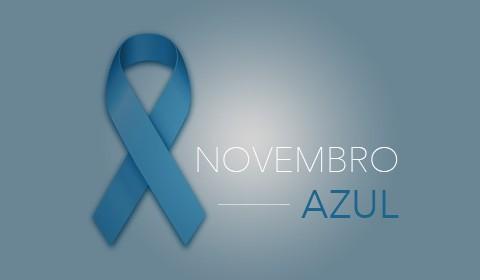 Novembro Azul é o mês mundial de combate ao Câncer de Próstata
